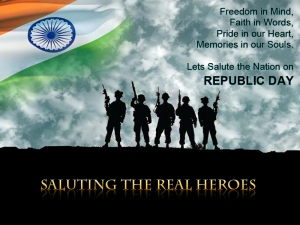 Saluting the Real Heroes... Happy Republic Day...
